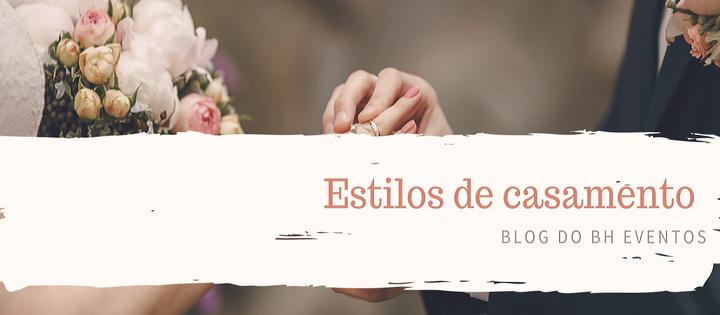 Estilos de casamento